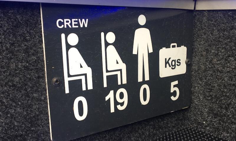 minibus passenger numbers