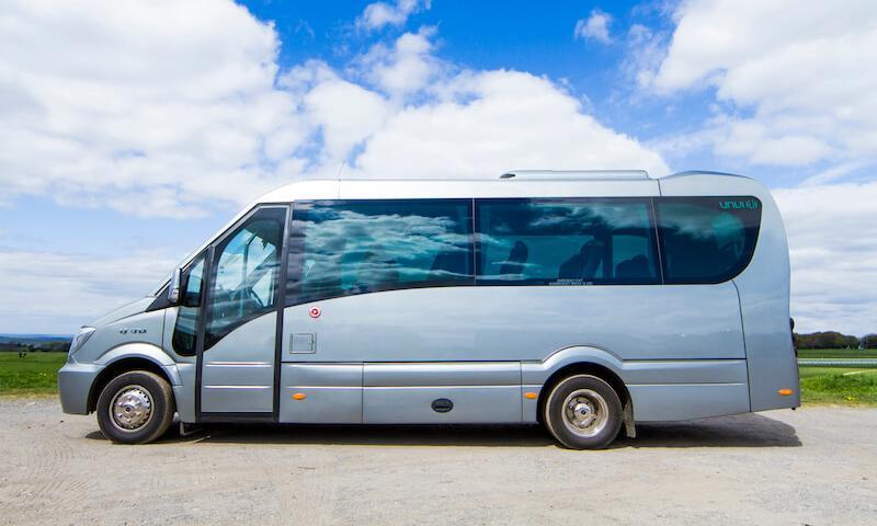 luxury minibus for hire