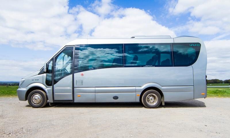 luxury minibus for private hire