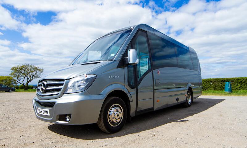 22 seater luxury minibus for hire