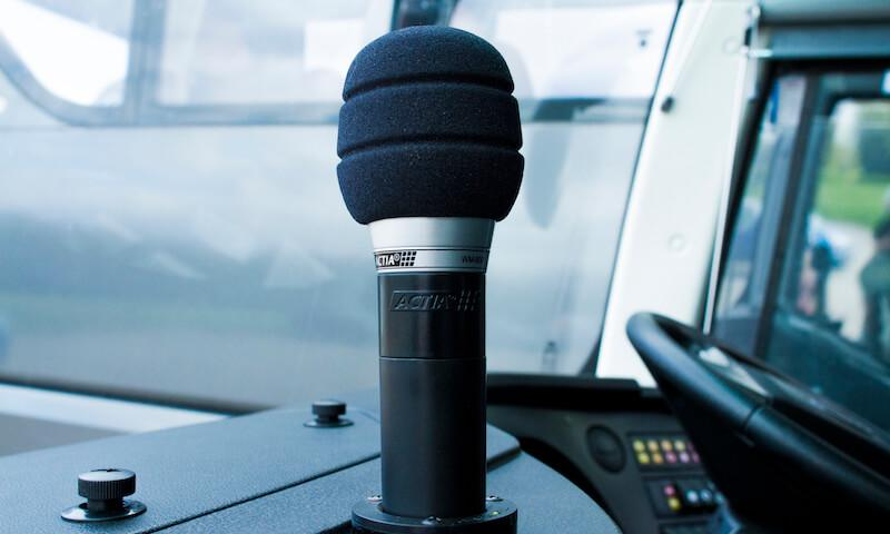 coach microphone