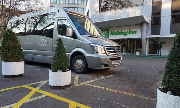 luxury minibus for private hire