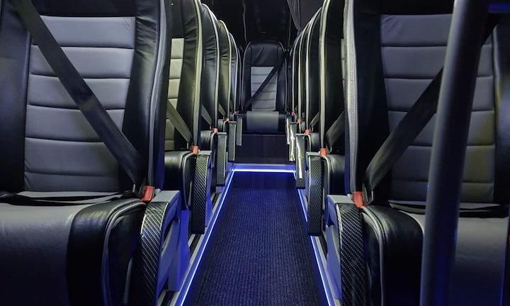 minibus interior