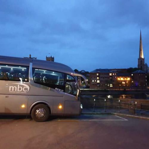 Coach hire for parties