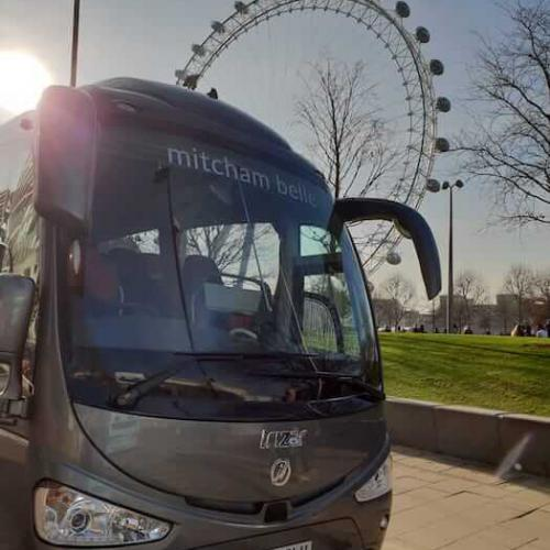 Coach hire for London tours