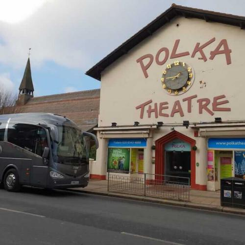 School Trip by Coach to Polka Theatre in Wimbledon, London