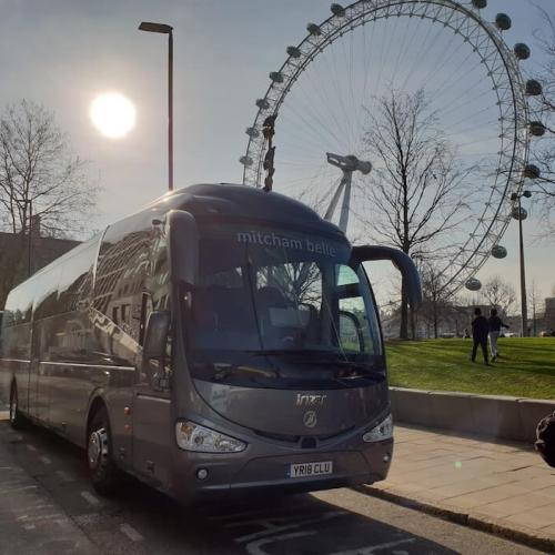 Luxury coach hire for trips to London