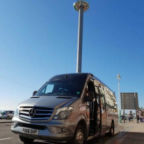 Luxury minibus hire for day trips