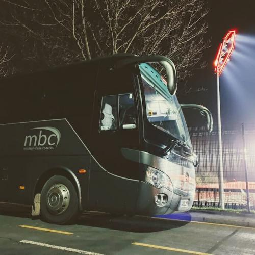 Coach hire for sports events
